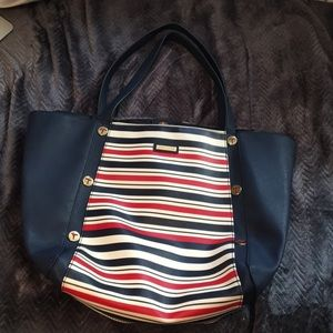 Tommy Hilfiger Striped Tote!